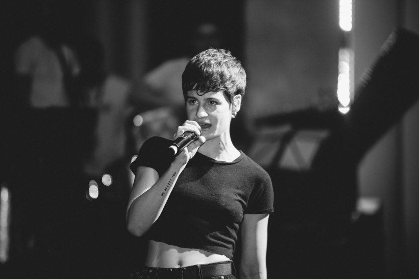 Christine and the queens, Aude Arnaud photography, photos concert, photographe concert